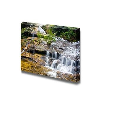 Beautiful Scenery Landscape Katoomba Falls Blue Mountains National Park New South Wales Australia - Canvas Art Wall Art - 24