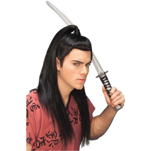 Forum Novelties Men's Adult Asian Warrior Costume Wig,