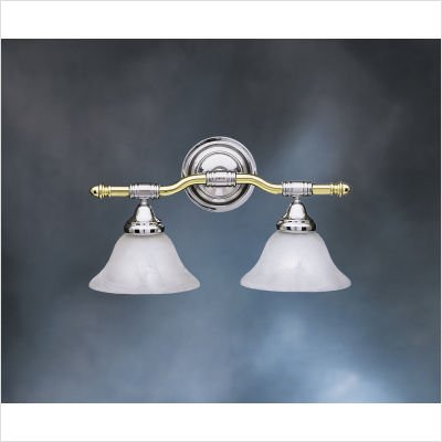 Kichler Lighting 6292PBC 2 Light Broadview Bathroom Light ()