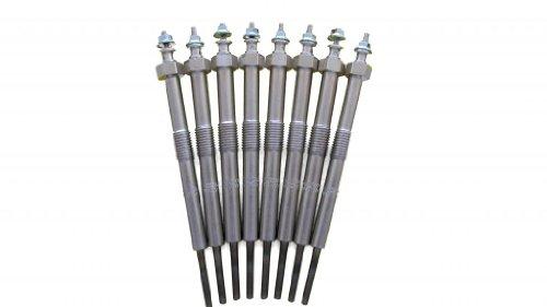 Wellman Glow Plugs 6.6L DURAMAX Diesel 2006-2011 LLY & LBZ Fast Start Glowplugs (Set of 8) GMC & Chevy 3500 & 2500