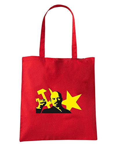 Speed Shirt Borsa Shopper Rossa TCO0088 LENIN