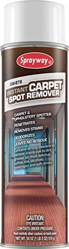 Sprayway SW879 Instant Carpet Spot Remover, 18 oz