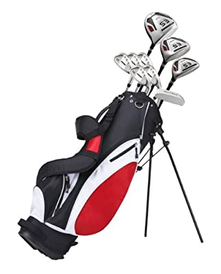 """Tartan Sports New Deluxe Men's Complete Golf Set for Tall Men (6'1"""" - 6'4"""") Right Handed"""