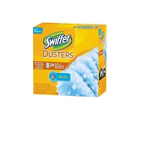 Swiffer Dusters Handle and Refills, 24 Count , Pack of 3