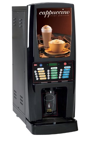 Grindmaster-Cecilware GB5MF-IT-LD Multi-Flavor Hot Powder Beverage Dispenser, Cappuccino (Flavor Cappuccino Dispenser)