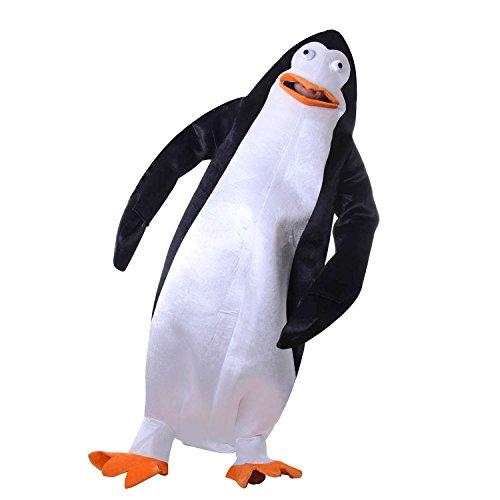 Adult Children Unisex Penguin Costume Animal Mascot Suit (Kids-Large) (Penguin Mascot Costume)