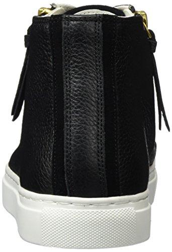 Hugo Nycole-g 10193791 01, Zapatillas Altas para Mujer Negro (Black 001)