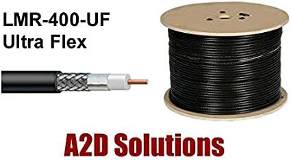 Ultraflex LMR400 Times Microwave Coax Cable 100ft Without Connectors