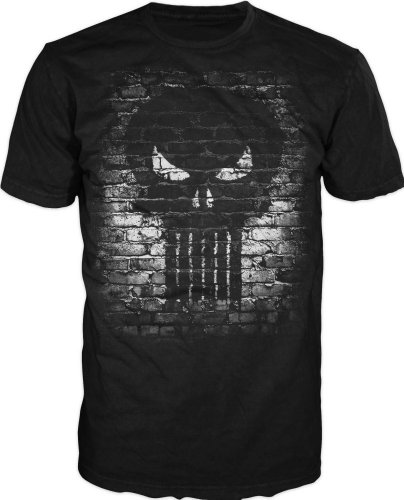 Brick Logo T-shirt (Punisher Bricks Logo T-Shirt Size XLBlack)