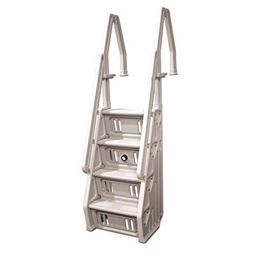 Vinyl Works Deluxe Above Ground In-Pool Step Ladder - 24 Inch by Vinyl Works