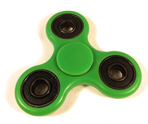 [Fidget Spinner with Design by Weemboo with Ultra Durable ABS High Speed 3-5 Min Tri-Spinner Toy Increase Focus Of Children And Adult – Perfect for Gift / Work / Class / Home] (Green Troll Costumes Contact Lenses)