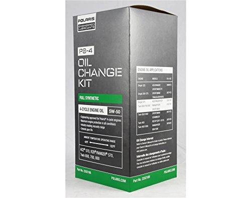 (Polaris 2202166 ATV OEM Sportsman Oil & Filter Change Kit)