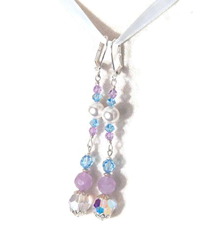 Element Amethyst Ring - Amethyst & Swarovski Elements Earrings