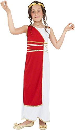 c1bf8d77c4cb 6 opinioni per SMIFFYS Costume Carnevale Halloween Travestimento Dea Greca  Toga Romano- bambina