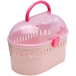 IRIS Extra Small Animal and Critter Carrier, Pink