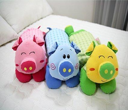 Pig Kids Buckwheat Pillow