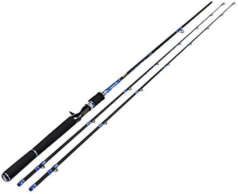 釣り竿、ルアーロッド、カーボン超軽量スーパーハード、ガンハンドル、シーロッド、釣り道具、2.1m