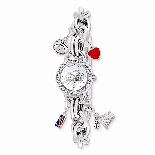 Gifts Licensed Gifts Ladies NBA Los Angeles Clippers Charm Watch ()