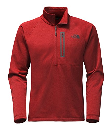 The North Face Red Fleece (The North Face Men's Canyonlands 1/2 Zip - Cardinal Red Heather - XL (Past Season))