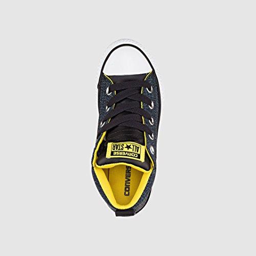 Converse Street Ctas Black Mid Junior Sneakers 651786c rBfrRw