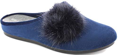 Soft 5 Cm Donna Sottopiede Ciabatte Blu Zeppa 2 Inblu Vg000015 x1Fq4wxa