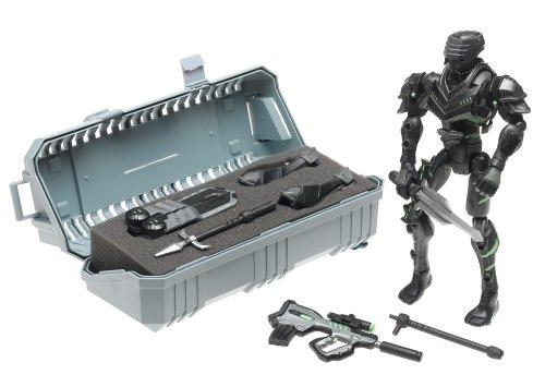 G.I. Joe Sigma 6 Snake Eyes Ninja Armor 8 Inch Commando - Backpack Gi Joe Weapon
