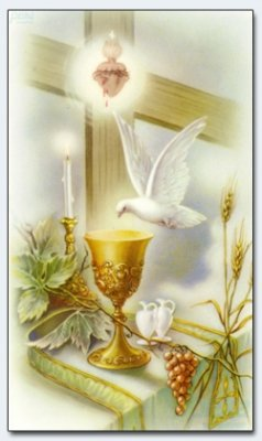 25 Prayer Cards Picture of a Saint Holy Mass