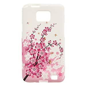 WQQ Teléfono Móvil Samsung - Cobertor Posterior - Diseño Especial - para Samsung S2 I9100 ( Multi-color , Silicona )