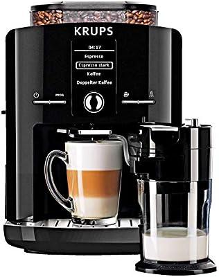 Krups EA8298 LattEspress - Cafetera automática con 2 tazas ...