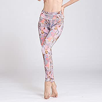 bb021b9cebd6b JIALELE Yoga Pants Yoga Leggings Print Lady Bird Yoga Pants Quick-Drying  Breathable Sau The