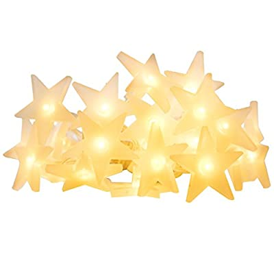 InnooLight Star Fairy Lights Battery Operated 30 LEDS Indoor String Lights for Christmas, New Year, Party, Wedding (Warm White)
