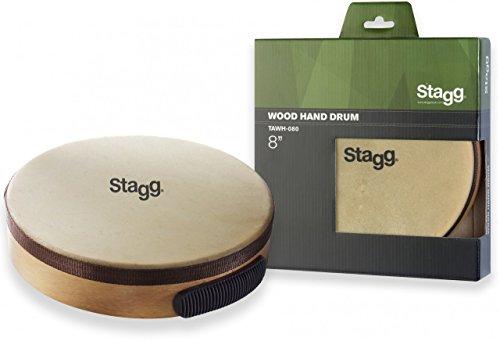 Stagg TAWH-080 20,3 cm (8 Zoll) Vorgestimmte Holz-Handtrommel