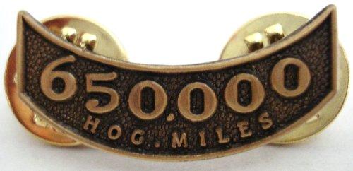 Harley Davidson 650,000 HOG Miles Rocker Lapel ()