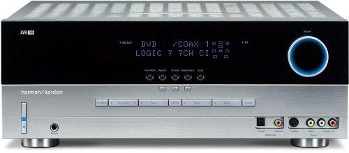 (Harman Kardon AVR 140 6.1-Channel A/V Receiver, Silver (Discontinued by Manufacturer))