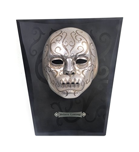 Harry Potter Bellatrix Lestrange Costume (Noble Collection - Harry Potter Death Eater Mask Bellatrix)