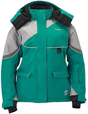 Striker Ice Women's Fishing Cold Weather Waterproof Prism Jacket, Emerald Teal, Size 10