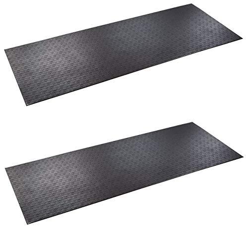 SuperMats Solid P.V.C. Mat for Treadmill )
