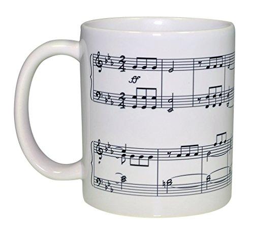Beethoven Symphony Number 5 Coffee or Tea Mug