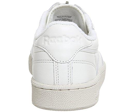 Bianco Zip Reebok Scarpa C W 85 Club YwFgFUW8z