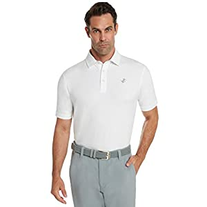 Dry Fit Cotton Polo Shirt - tucked in front