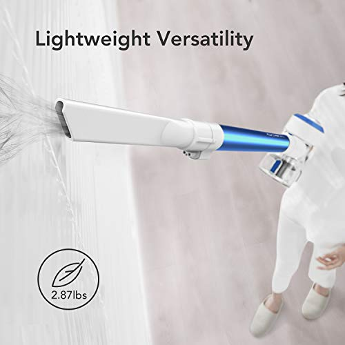 Tineco A10 Hero Cordless Vacuum 2-in-1 Handheld Stick Vacuum Lightweight LED Power Brush 350W Rating Power with Rechargeable li-ion Battery for Deep Clean Pet Hair