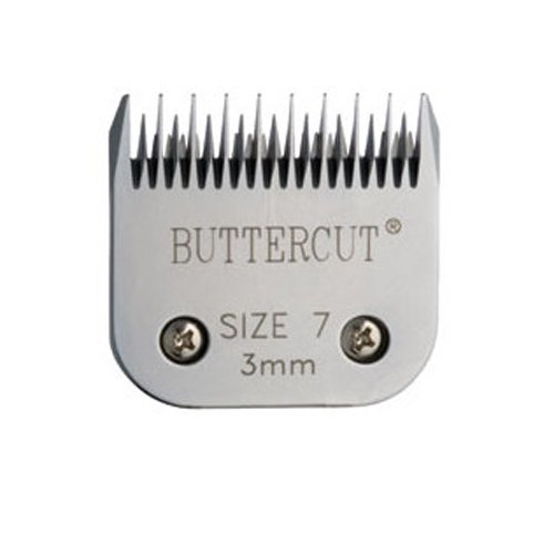 Geib Buttercut Stainless Steel Dog Clipper Blade, Size-7 Skip Tooth, 1/8-Inch Cut Length