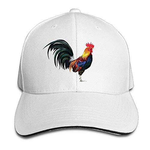 Cheeper Eletina Ds Beanie Australia Creative The Lifelike Rooster Chicken Fashion Design Unisex Cotton Sandwich Peaked Cap Adjustable Baseball Caps Hatsarmy Peak Cap]()