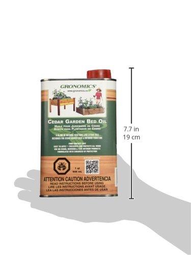 Gronomics Cedar Garden Bed Oil