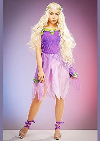 Magic Box Disfraz de Princesa de Hadas Estilo Rapunzel de Talla ...