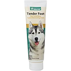 NaturVet - Tender Foot - Topical Moisturizing Cream - 5 oz - Multi-Vitamin Cream Protects, Repairs & Restores Foot Pads - Softens & Moisturizes Calloused Elbows - for Dogs & Cats