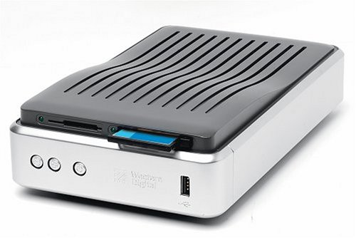 WD  160 GB Media Center External Hard Drive with 8-in-1 Card Reader by Western Digital