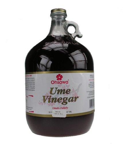 Ohsawa Oindo Ume Plum Vinegar - Macrobiotic, Vegan, Raw and Gluten-Free - 1 Gallon by OHSAWA®