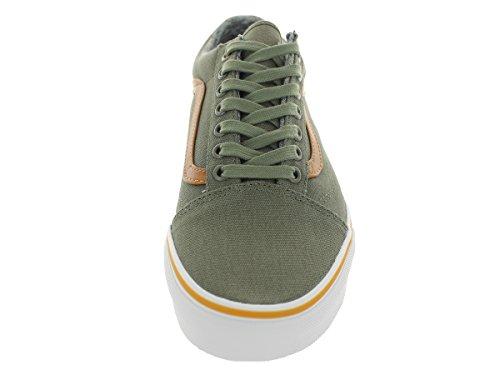 Vkw65Io Powder Skool Green Dark Old Gold Unisex Trainers Blue Coast Shadow Vans Adults CanPA8nq