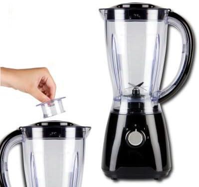 Negro Mixer – Batidora con jarra 1,5L irrompible de plástico ...